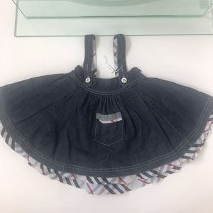 Burberry jumper (skirt)